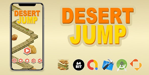 Desert Jump Game Template - CodeCanyon Item for Sale