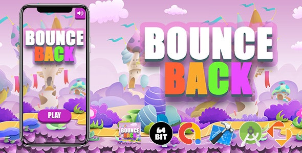 Bounce Back Game Template - CodeCanyon Item for Sale