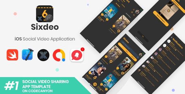 Sixdeo   iOS Social Video Sharing Application [XServer]