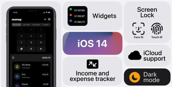 Income & Expense tracker - iOS App Source Code