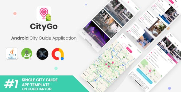 CityGo | Android Single City Guide Store Finder Application [XServer]