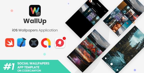 WallUp | iOS Social Wallpapers Application [XServer]