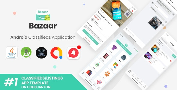 Bazaar   Android Social Listings/Classifieds Shopping Application [XServer] - CodeCanyon Item for Sale