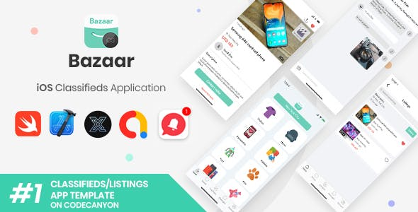 Bazaar | iOS Social Listings/Classifieds Shopping Application [XServer]