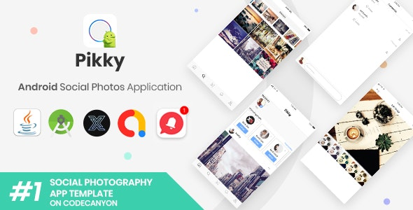 Pikky | Android Instagram-like Social Media Application [XServer] - CodeCanyon Item for Sale