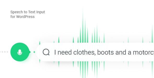 Listener – Voice Input Plugin for WordPress - CodeCanyon Item for Sale