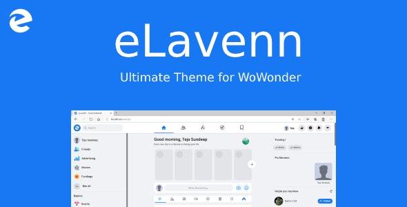 eLavenn - The Ultimate WoWonder Theme - CodeCanyon Item for Sale