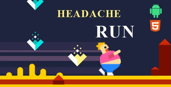 Headache Run 2D Ultimate Runner Game