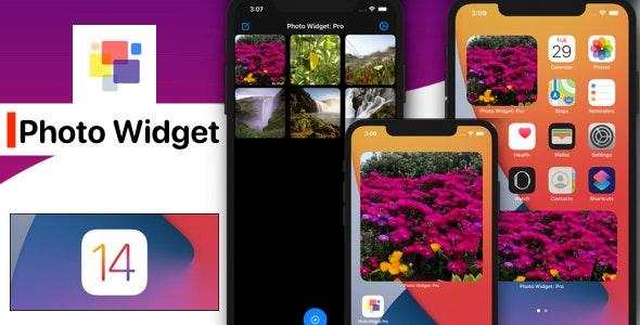 iOS 14 Photo Widget App (New iOS 14 Widget, SwiftUI) - CodeCanyon Item for Sale