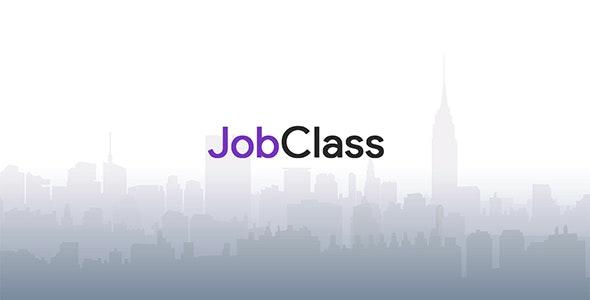 JobClass v6.0.4 – Job Board Web Application – nulled