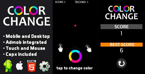 Color Change - Html5 and Mobile .capx - CodeCanyon Item for Sale