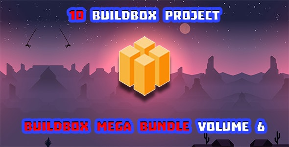 Buildbox Game Bundle Volume 6 - CodeCanyon Item for Sale