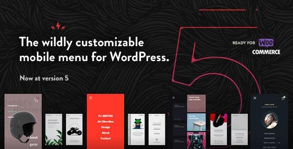 Taptap A Super Customizable Wordpress Mobile Menu By Bonfirethemes