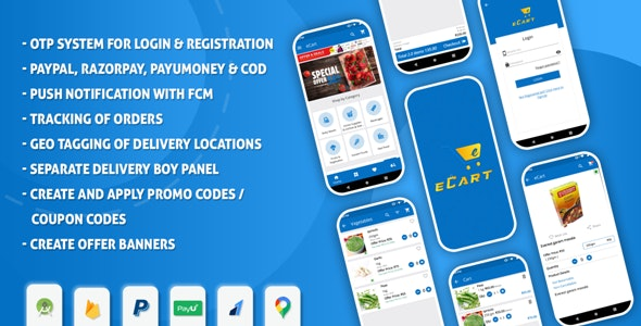 eCart - Android ecommerce app - CodeCanyon Item for Sale