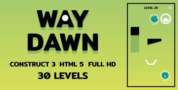 Way Dawn - HTML5 Game (Construct3)
