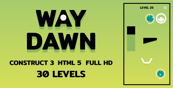 Way Dawn - HTML5 Game (Construct3) - CodeCanyon Item for Sale