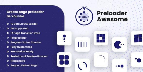 Preloader Plugin In WordPress - Preloader Awesome Pro