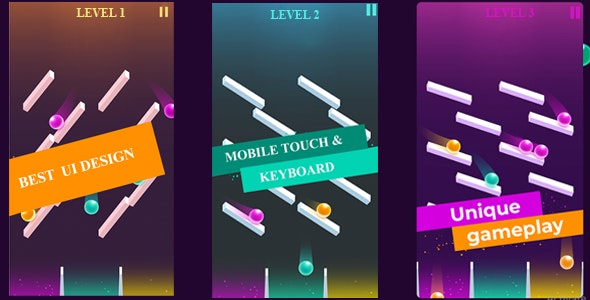 Balance Mania Multilevel Construct 2 HTML 2D Game - CodeCanyon Item for Sale