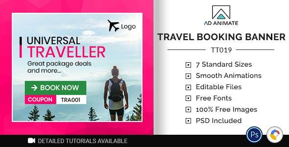 Tour & Travel | Travel Booking Banner (TT019)
