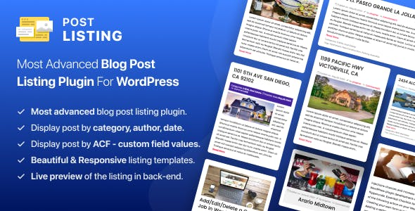 Advanced Posts Grid for Wordpress