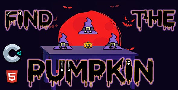 Find The Pumpkin - HTML5 Mobile Game