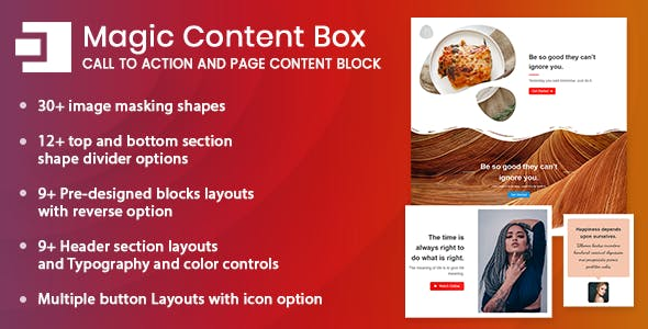 Magic Content Box -Page Content Builder Gutenberg Block for WordPress