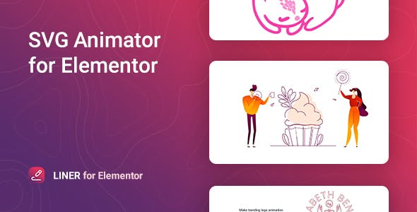 Liner – SVG Animation for Elementor