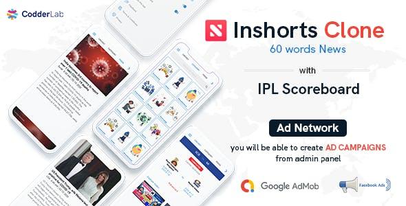 Shorts News - Inshorts Clone