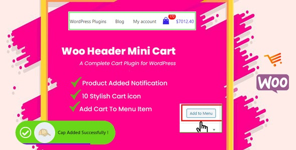 Woo Header Mini Cart - CodeCanyon Item for Sale