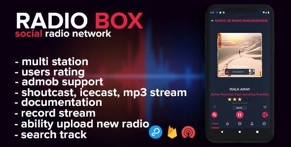 Radio Box - social radio network (android)