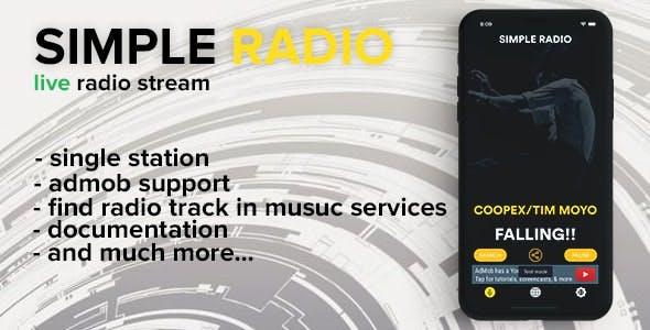 Simple radio (iOS)