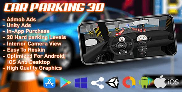 Car Parking 3D Unity Game