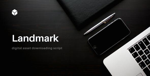 Landmark – Digital Asset Downloading Script