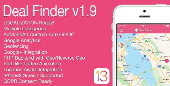 Deal Finder Full iOS Application v1.9