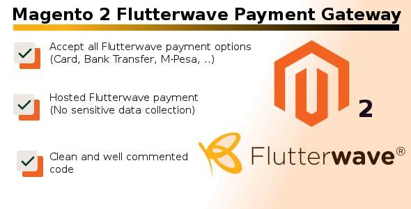 Magento 2 Flutterwave Payment Gateway