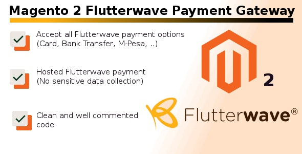 Magento 2 Flutterwave Payment Gateway - CodeCanyon Item for Sale