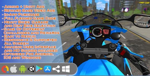 Bike Racing Game Unity 3D