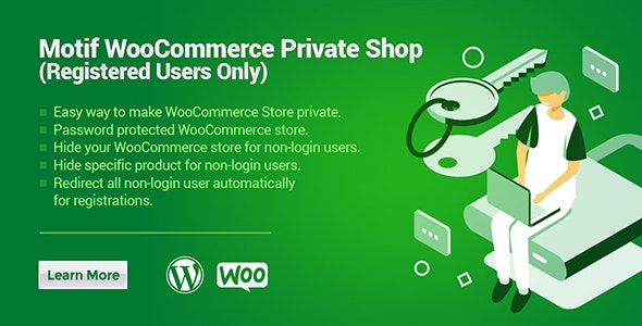 WooCommerce Private Shop | Registered Users Shop - CodeCanyon Item for Sale