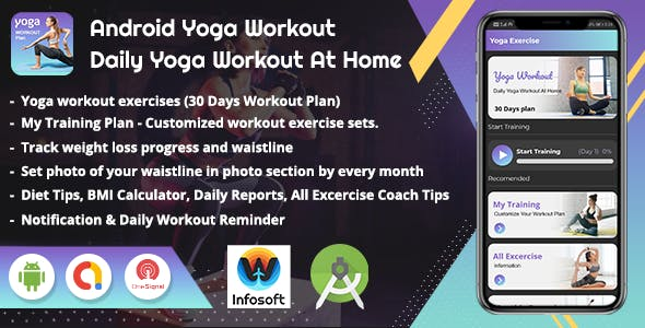 Android Yoga Workout - Daily Yoga Excercise At Home (V_2)