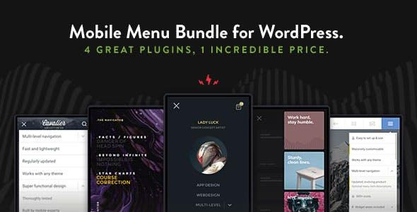 WordPress Mobile Menu Bundle