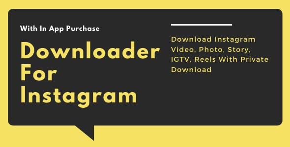 Instagram Downloader - Download Instagram Video, Photo, IGTV, Reels, Story