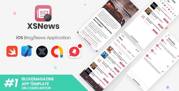 XSNews | iOS News/Blog Multipurpose Application [XServer]