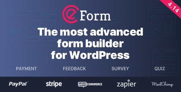 eForm - WordPress Form Builder - CodeCanyon Item for Sale