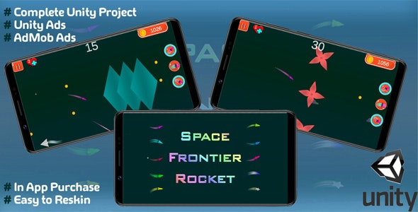 Space Frontier Rocket - CodeCanyon Item for Sale
