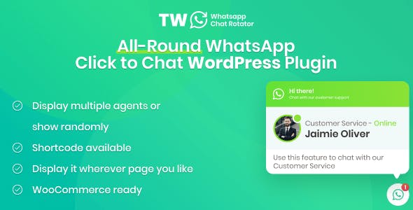 WhatsApp Chat for WordPress and WooCommerce