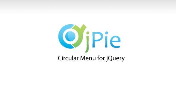 jPie jQuery Circular Menu