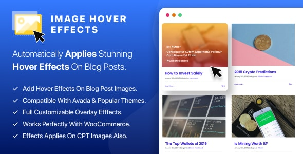 WP Image Hover Effects - CodeCanyon Item for Sale