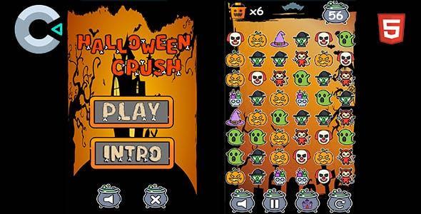 Halloween Crush - HTML5 Mobile Game