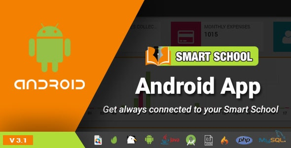 Smart School Android App - Mobile Application for Smart School - CodeCanyon Item for Sale