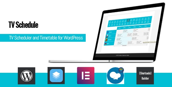 TV Schedule and Timetable for WordPress - CodeCanyon Item for Sale